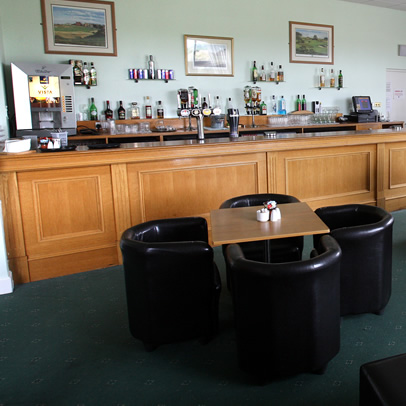 Seating area in the bar at the Drumoig Golf Hotel