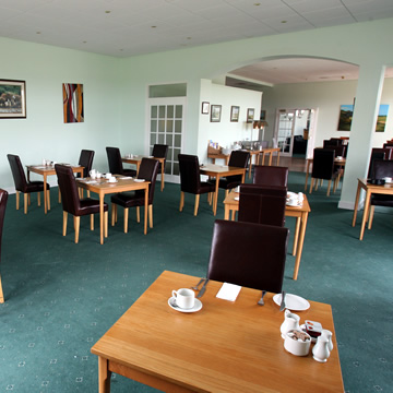 View of the dining room Drumoig Golf Hotel