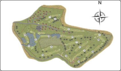 Drumoig Hotel Golf Course Map Link