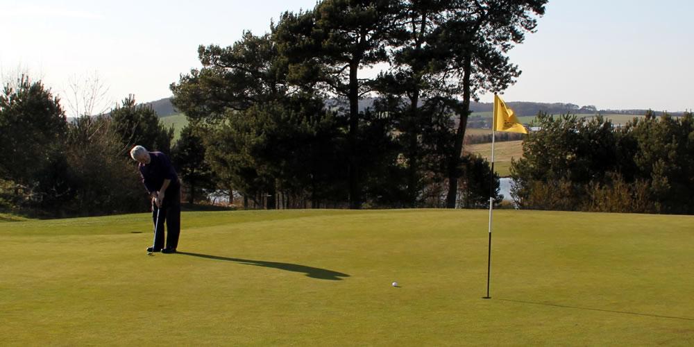 8th Green Drumoig Golf Course
