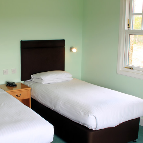 Twin Room in Lodge at Drumoig Golf Hotel