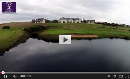 Click on image to link to the Drumoig Golf Hotel video page